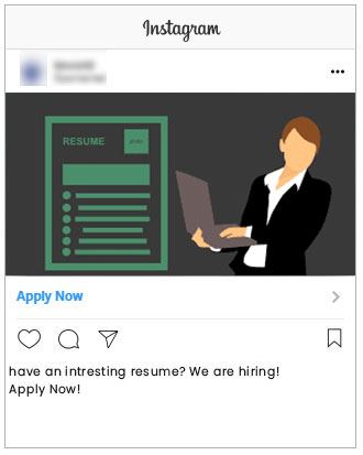 Instagram Hiring Ads