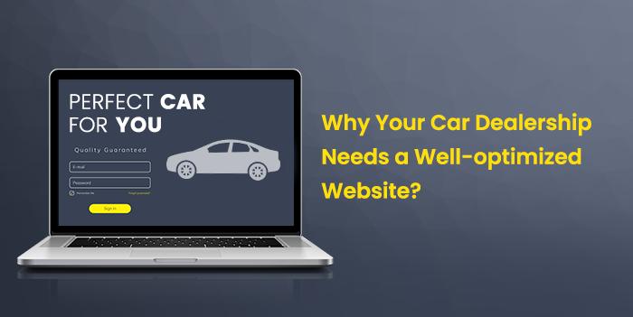 website for car dealership