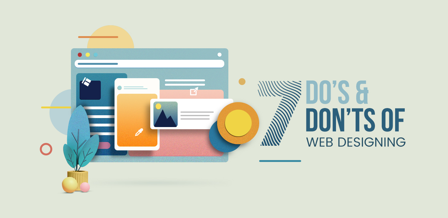 do's and don'ts of web designing