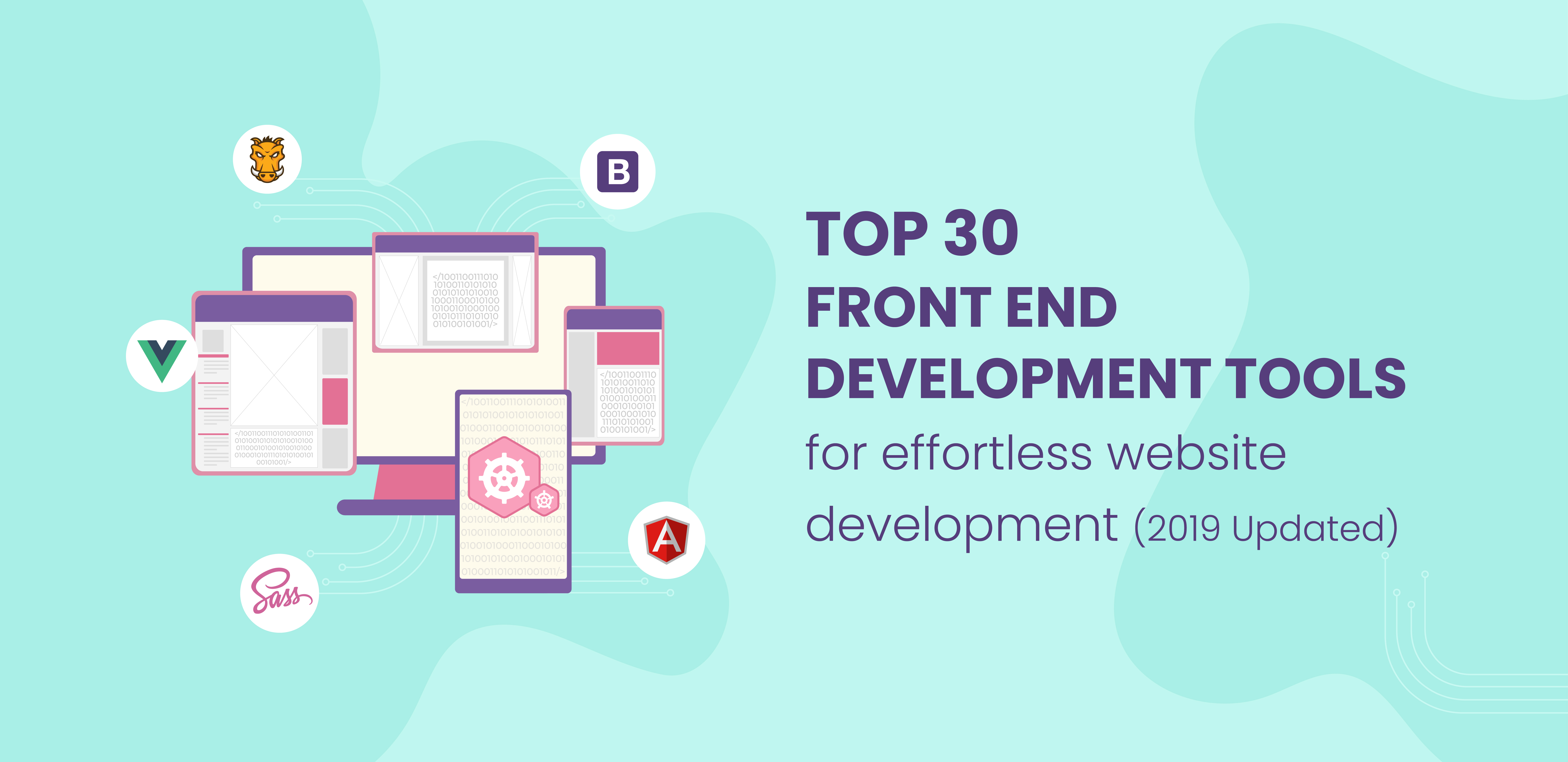 Top 30 front end development tools - 2019 updated