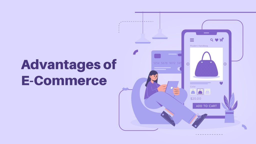 Advantages of eCommerce Website for  Business