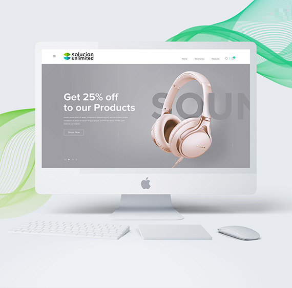 Ecommerce development of Solucion