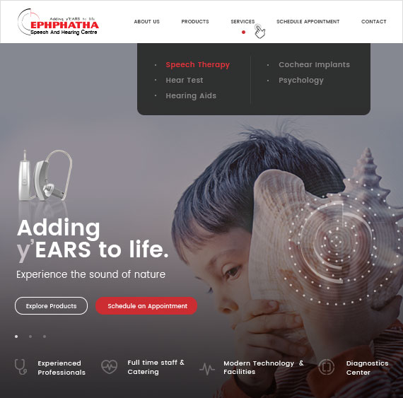 Website for                         Ephphatha