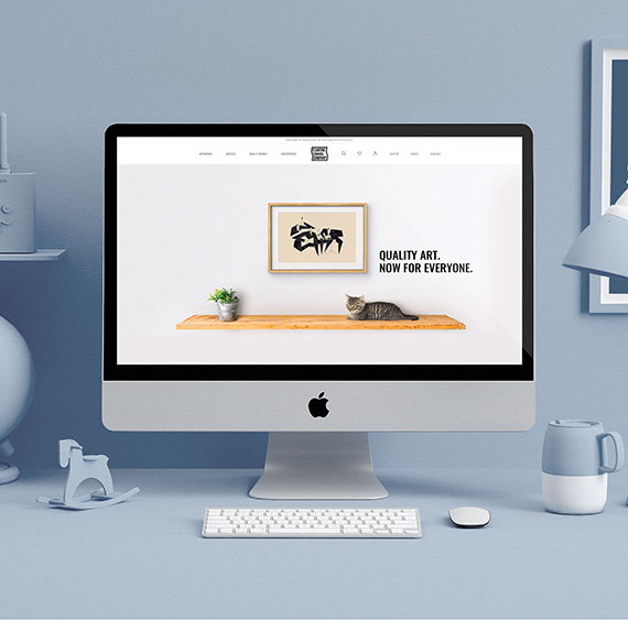 Ecommerce development of floatingcanvascompany