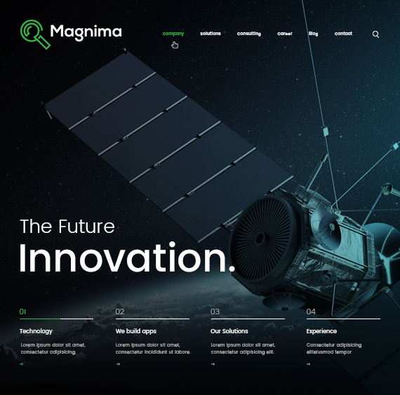 Website for                         Magnima Technologies