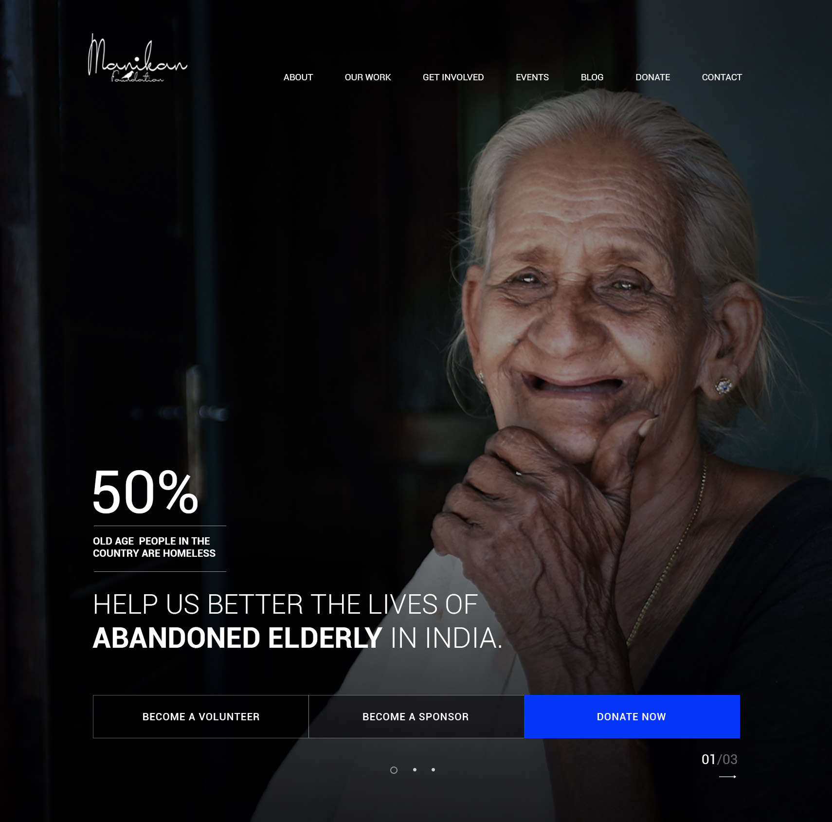 WebSite for Manikan Foundation