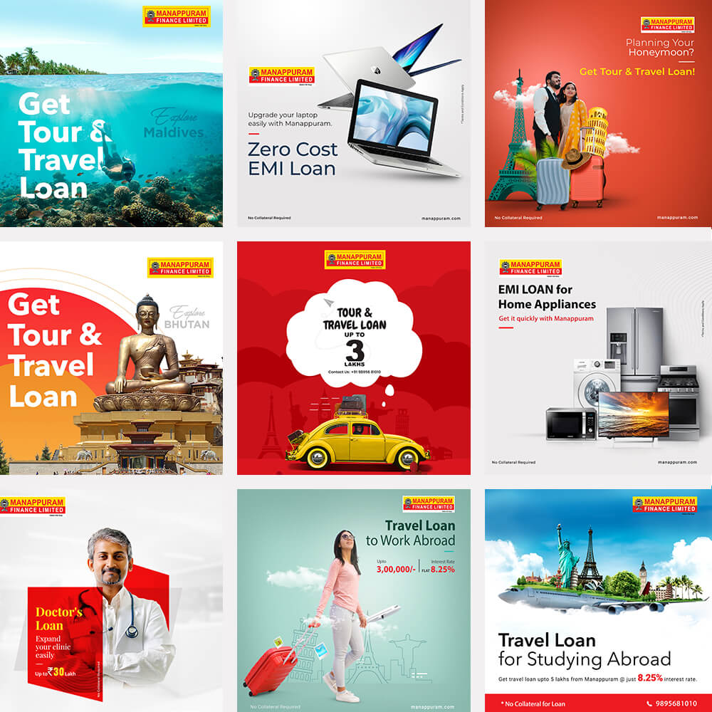 social media marketing for manappuram