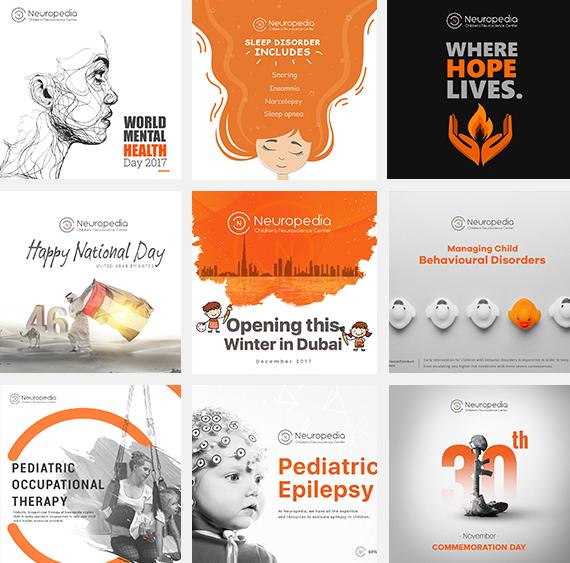 social media marketing for Neuropedia