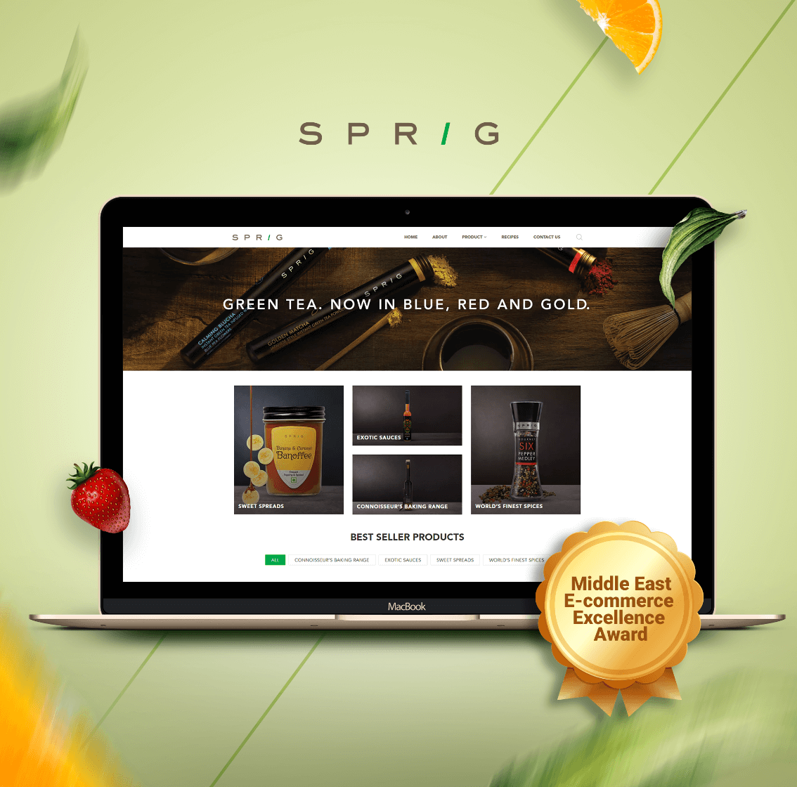 Ecommerce development of sprig