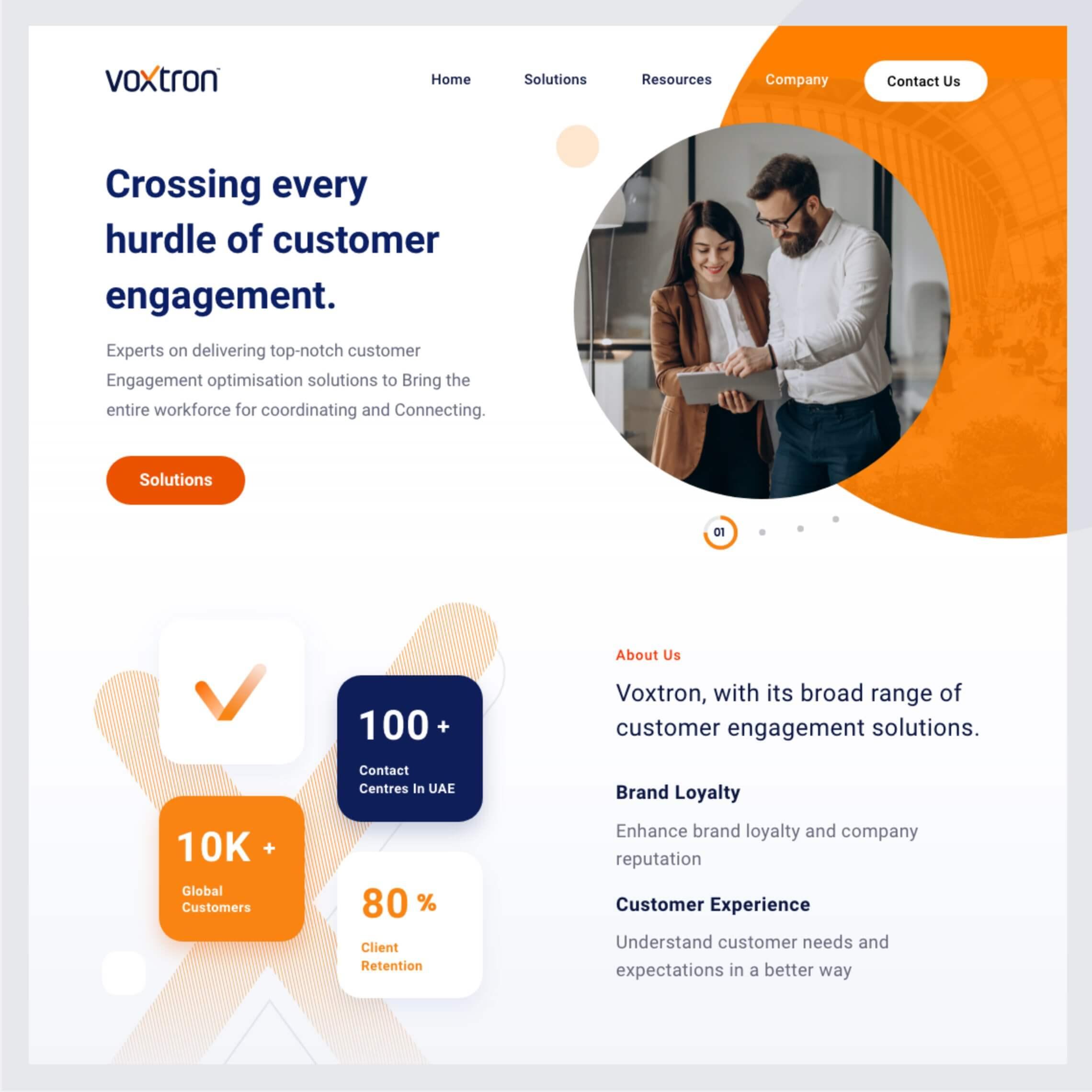 Development of Voxtron