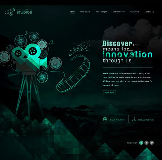 Website for Media Village