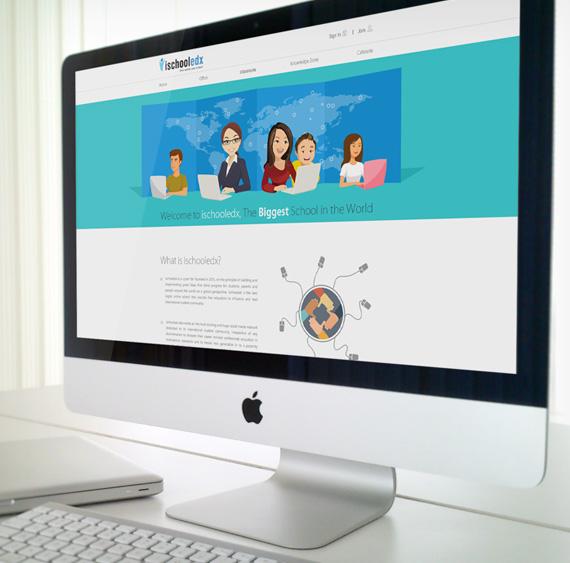 Web Application for Ischooledx