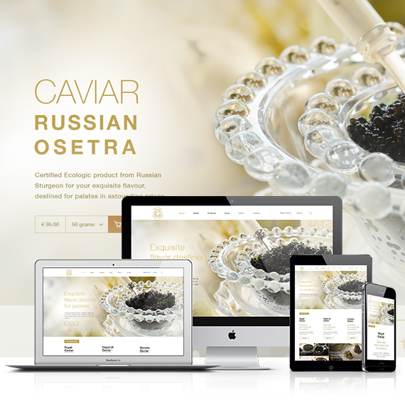 ecommerce development of SimplyCaviar