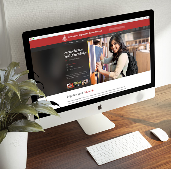 Website for Government Engineering College