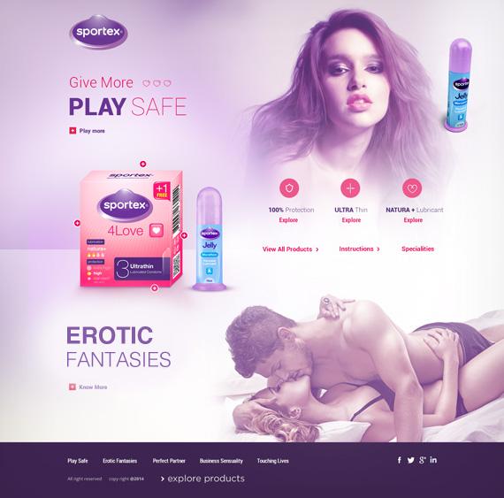 Website for Sportex